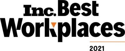 Aytm is honored to be listed as one of Inc.'s Best Workplaces 2021.