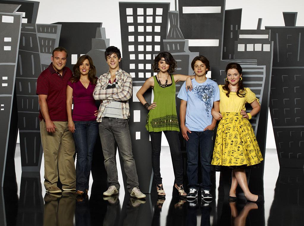 """The cast of """"Wizards of Waverly Place."""""""