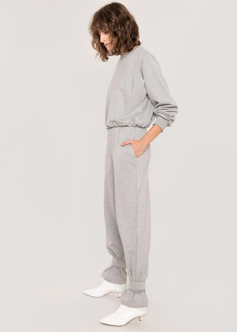 <p><span>The Frankie Tab Cuff Sweatpants</span> ($134) are an ideal outfit component for a Hailey Bieber-inspired sweats and trench coat combo.</p>