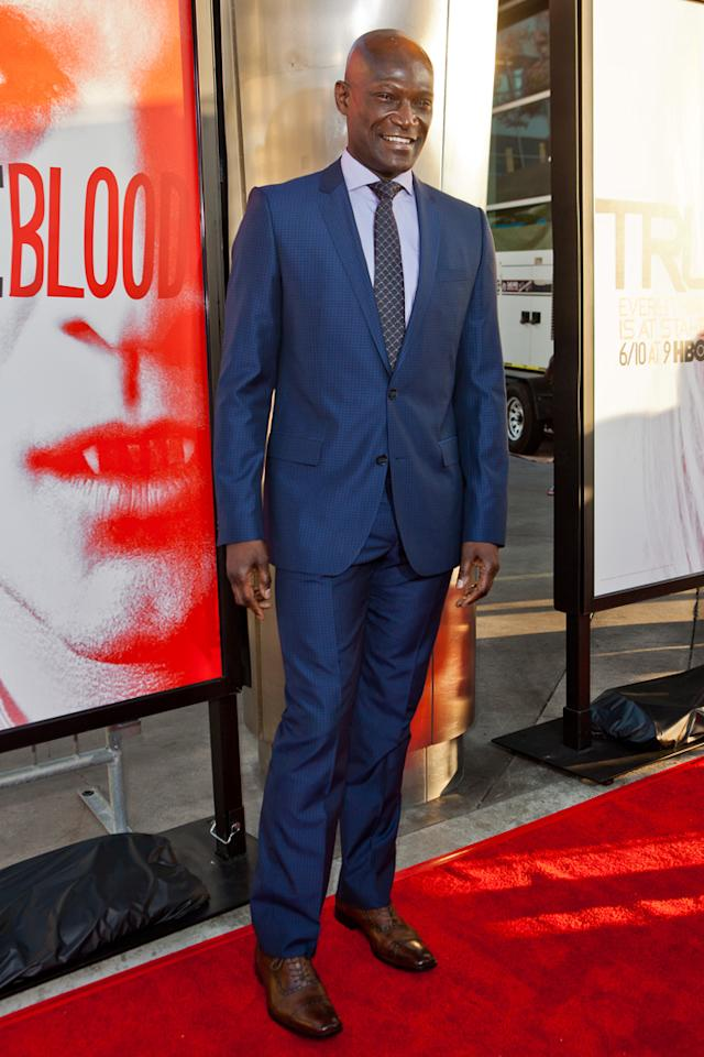 """Peter Mensah attends HBO's """"True Blood"""" Season 5 Los Angeles premiere at ArcLight Cinemas Cinerama Dome on May 30, 2012 in Hollywood, California."""