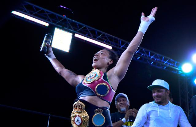 Shields' opponent, Hanna Gabriels, is the WBA-WBO super welterweight champion and is a former welterweight champ. (Getty Images)
