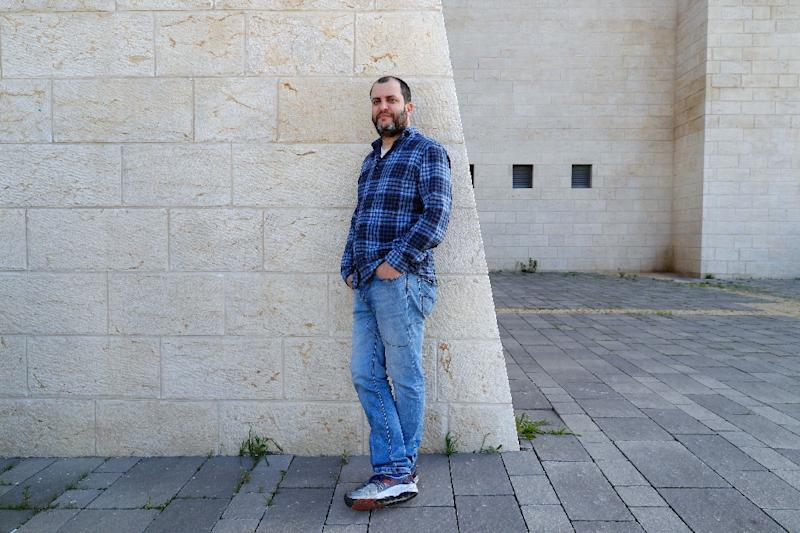 Hacker and activist Noam Rotem says Israel is being targeted by networks from Saudi Arabia, Iran 'and we're pretty sure Russia' (AFP Photo/JACK GUEZ)