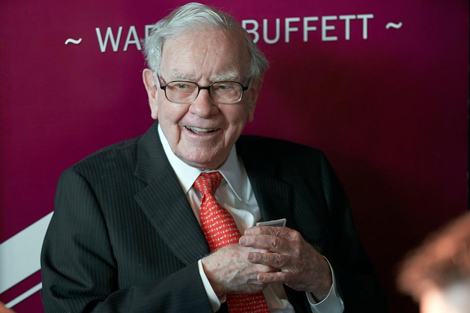 <p>The world's most famous investor has amassed a $102bn fortune while espousing the benefits of thinking long-term</p> (AP)