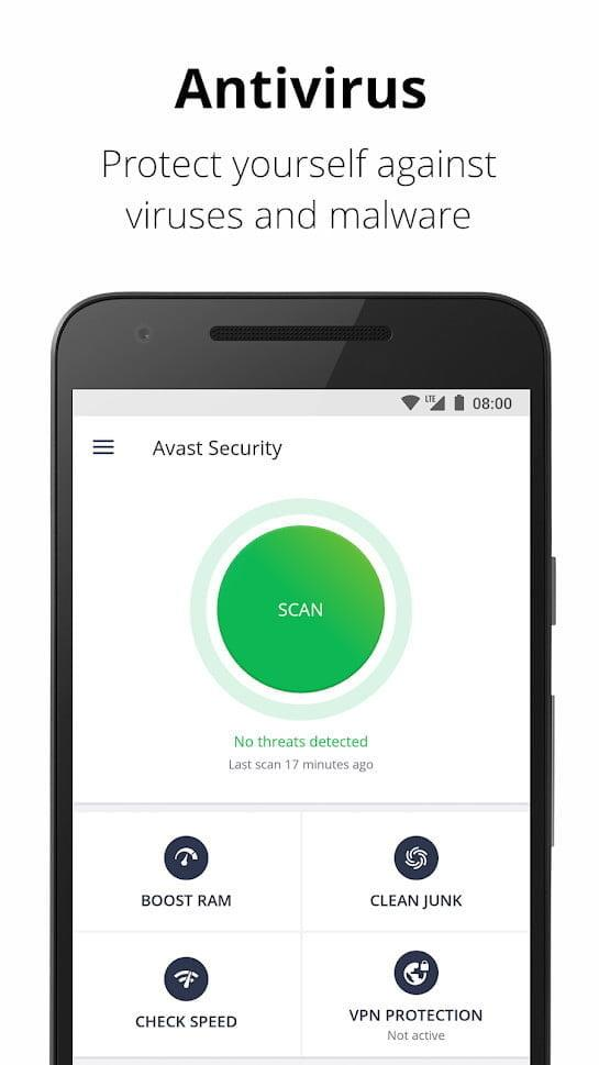 mejores apps android avast 1