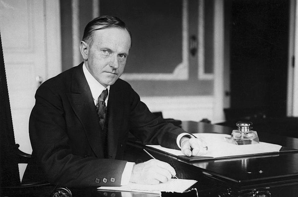 """<p><a href=""""https://www.childhelp.org/blog/calvin-coolidge-portrait-fatherhood-fathers-day/"""" rel=""""nofollow noopener"""" target=""""_blank"""" data-ylk=""""slk:President Coolidge"""" class=""""link rapid-noclick-resp"""">President Coolidge</a> also had cold feet: He recommended that the nation observe the holiday, but failed to issue a national proclamation (a.k.a. the document that makes it a done deal).</p>"""