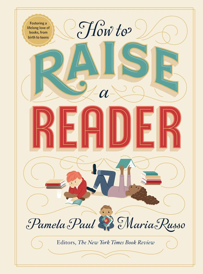 """<p>Reading has been proven to reduce stress, increase empathy, and improve focus. (Also, it's just plain fun!) Trying to give your kids a lifelong love of reading? The editors of The New York Times Book Review, Pamela Paul and Maria Russo, have got you covered. In <strong><a href=""""http://amzn.to/2GXPjKP"""" target=""""_blank"""" class=""""ga-track"""" data-ga-category=""""Related"""" data-ga-label=""""http://amzn.to/2GXPjKP"""" data-ga-action=""""In-Line Links"""">How to Raise a Reader</a></strong>, you'll learn concrete tips on how to instill a love of reading in your children, no matter what their age. Beautifully illustrated, this book also includes curated reading lists, based on age, as well as tips on how to engage reluctant readers. A must have for every family library.<br> <br> <strong>Release date:</strong> Sept. 3</p>"""