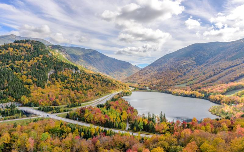 New Hampshire, USA, has many secluded areas - Getty