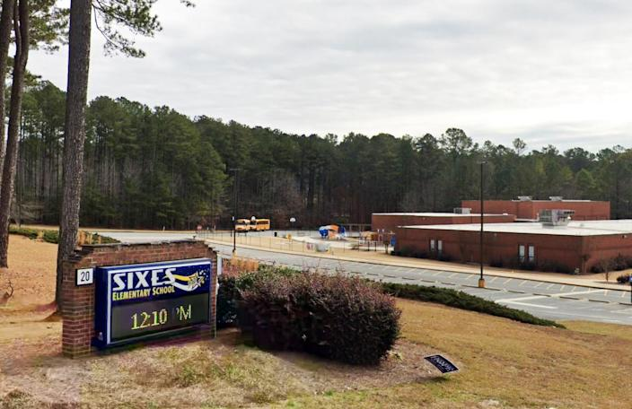 Sixes Elementary School in Canton, Ga. (Google Maps)
