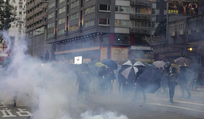 Anti-government protests have roiled in Hong Kong for almost six months and contributed to the city falling into a recession. Photo: Edmond So