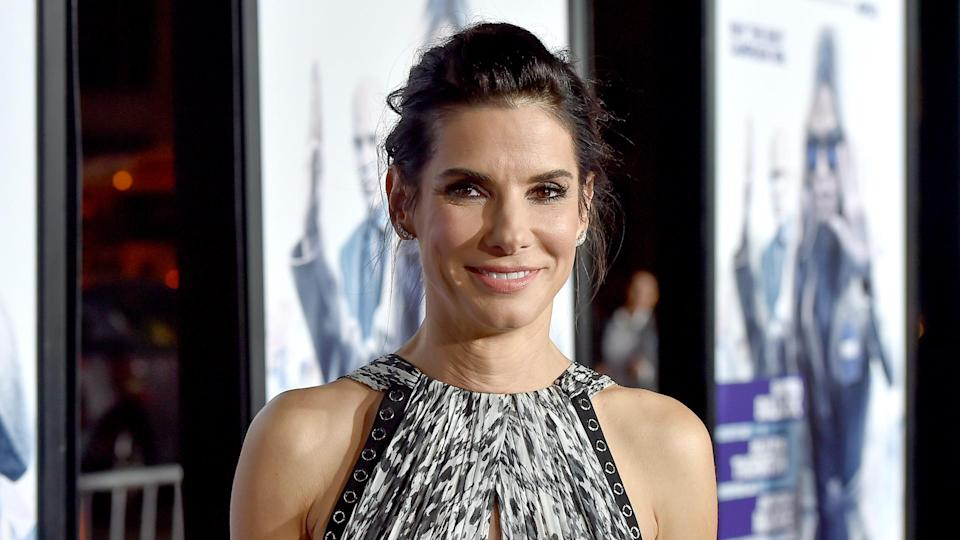 HOLLYWOOD, CA - OCTOBER 26:  Actress Sandra Bullock attends the premiere of Warner Bros.