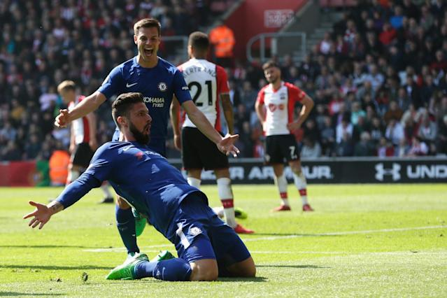 Chelsea's Olivier Giroud: I had something to prove against Southampton