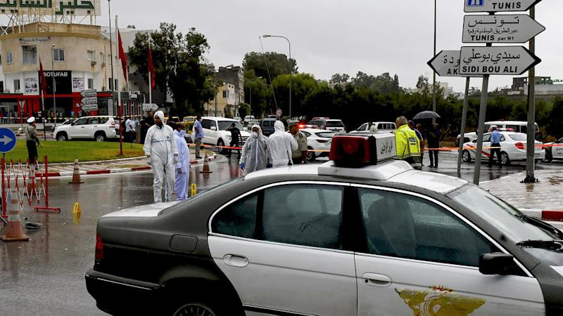 IS group claims fatal stabbing of Tunisian security official