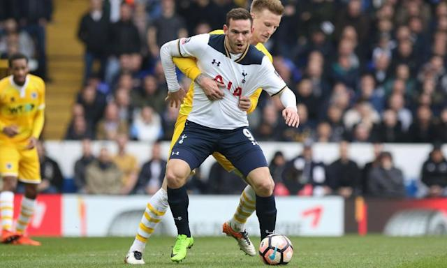 "<span class=""element-image__caption"">Although Mauricio Pochettino has stood by Vincent Janssen in public, the Spurs manager has been tougher in private with him.</span> <span class=""element-image__credit"">Photograph: ProSports/REX/Shutterstock</span>"