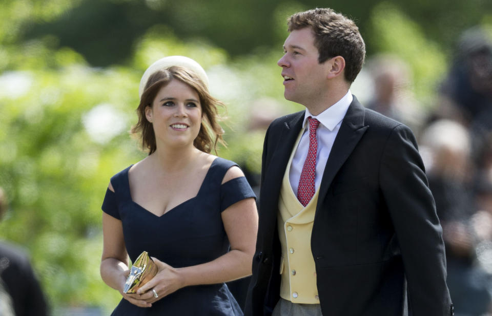 Princess Eugenie and Jack Brooksbank are getting married on 12 October. Photo: UK Press Pool/Getty Images