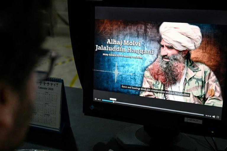 Jalaluddin Haqqani, once a valuable CIA asset against the Soviet Union, developed close ties with foreign Islamist militants -- including Osama bin Laden (AFP/Aamir QURESHI)
