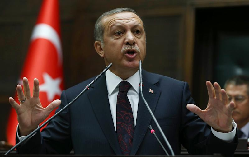 Turkish President Recep Tayyip Erdogan is due in Mogadishu on Friday (AFP Photo/Adem Altan)