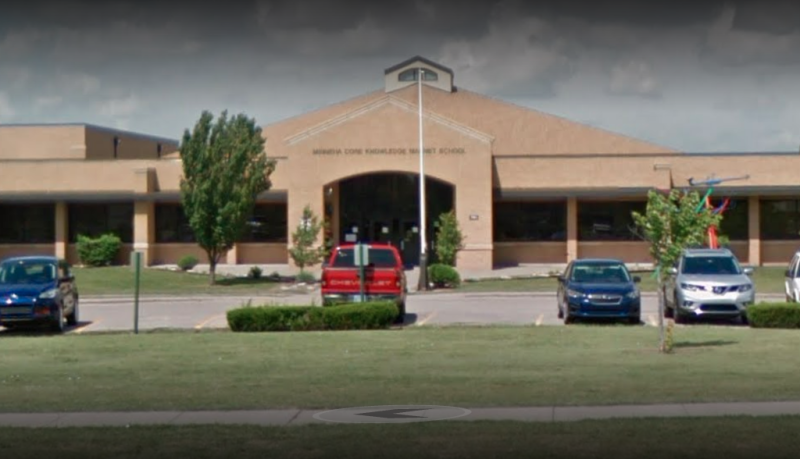 The boys attend Minneha Core Knowledge Elementary in Wichita, Kansas. Pictured is a Google Maps image of the school.