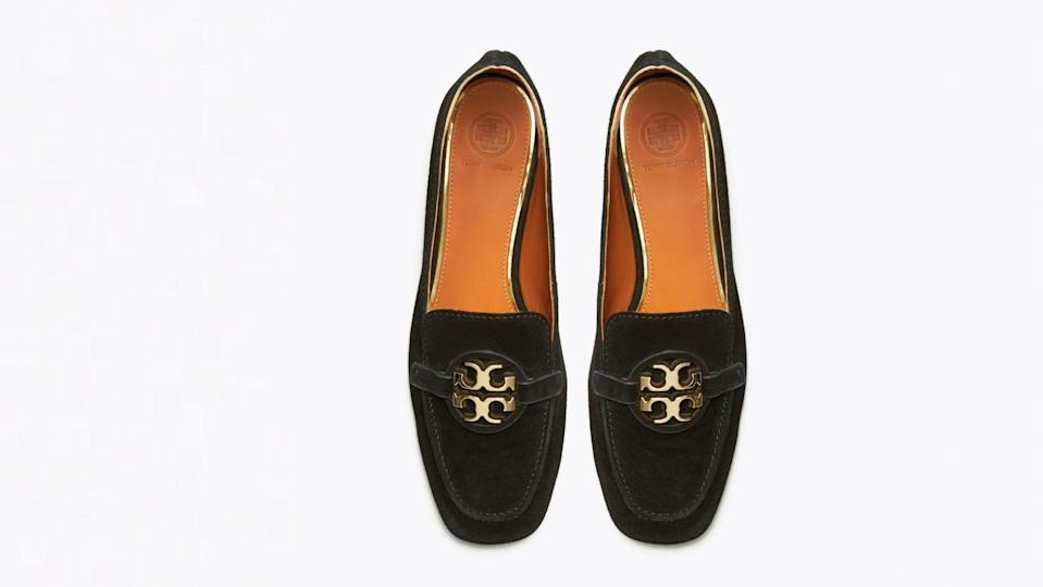 Stay well-heeled in this stylish pair of loafers.