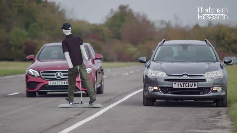 Tests on vehicles equipped with Automated Lane Keeping Systems