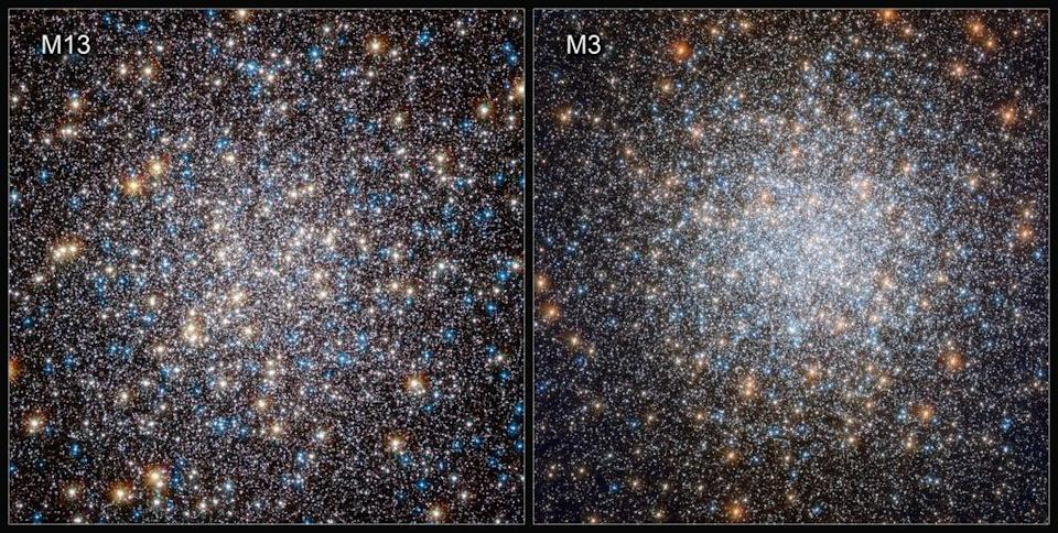 Scientists at the University of Bologna compared white dwarfs in the M3 and M13 star clusters, discovering that some were able to slow their rate of cooling by holding on to an outer layer of hydrogen  (PA)