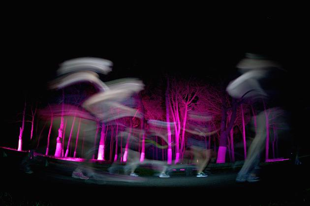 Runners make their way around the 13km course during Nike She Runs The Night at Centennial Park on May 3, 2012 in Sydney, Australia.  (Photo by Ryan Pierse/Getty Images)