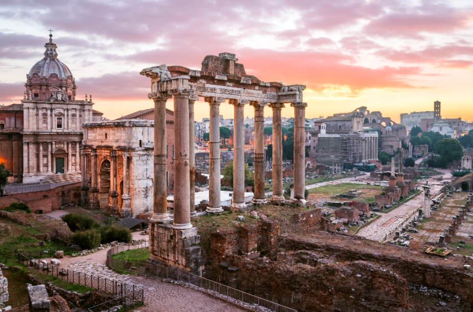 <p>The historic city of Rome moves up a place in the Top Cities Index. (Pic: Getty) </p>