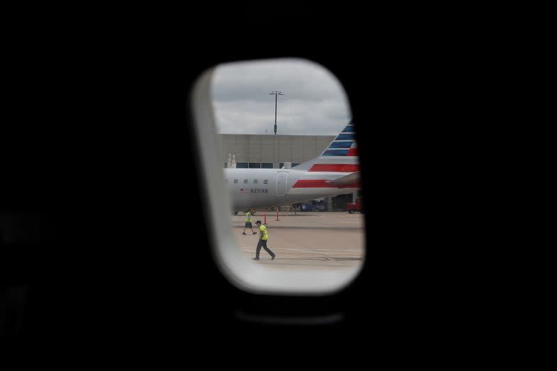 U.S. Treasury agrees on loan terms with American, four other airlines