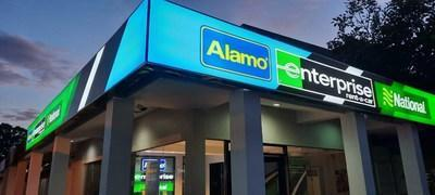 The tri-branded Enterprise Rent-A-Car, Alamo Rent A Car and National Car Rental branch in Cebu, Philippines, is part of the company's continued investment in APAC (PRNewsfoto/Enterprise Holdings, Inc.)