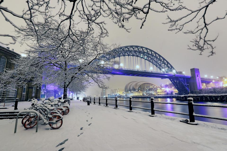 <p>Dozens of schools have been forced to closed because of snow and freezing temperatures. (PA) </p>