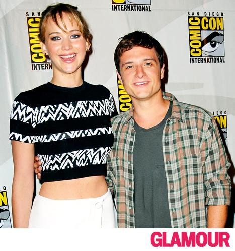 """Josh Hutcherson on Friendship With Jennifer Lawrence: """"We Can't Get Through a Take Without Laughing"""""""