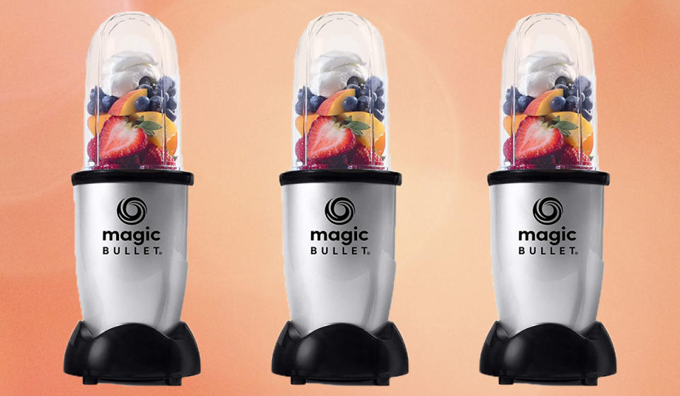 Thousands of shoppers rave about this compact blender. (Photo: Amazon)