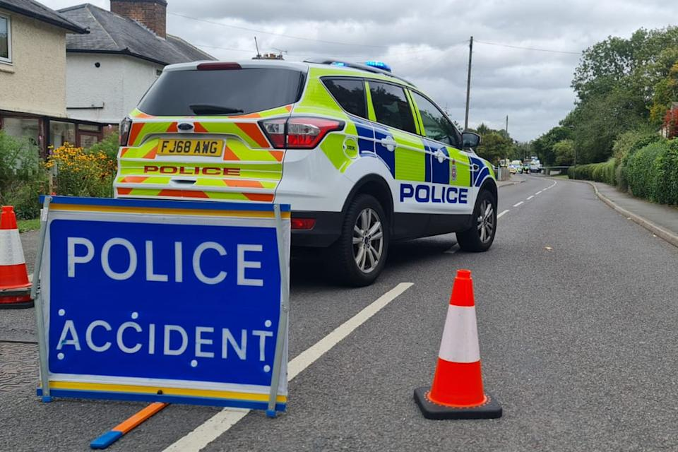 Police had to close a large stretch of road in Etwall following a serious accident on Egginton Road, involving 3 cars. It saw dozens of ambulances and police cars, along with two air ambulances at the scene.  DerbyshireLive/BPM