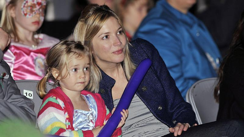 Lisa Faulkner with daughter Billie back in 2009