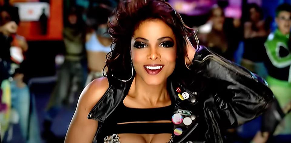 """Jackson in the """"All for You"""" music video."""