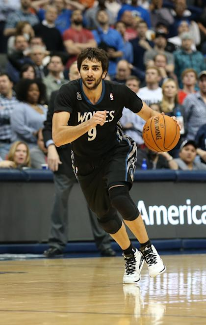 Ricky Rubio averaged 9.5 points and 8.6 assists last season. (USA Today)