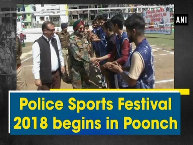 Police Sports Festival 2018 was organised by Poonch police under Civic Action Program (CAP) in Poonch district. The slogan of the event was 'Choose Life Not Drugs' which commenced on Friday at Sports Stadium. Various kind of sports like Volleyball, Badminton, Kabaddi, Carrom, Kho-Kho, Tug of War were played during the event. The aim of the event is to channelise the energy of the youths towards sports. The Festival was inaugurated by Deputy Commander Col MS Sabarwal along with SSP Poonch Rajiv Pandey. Huge gathering of sports lovers was present on the opening ceremony of the Festival.