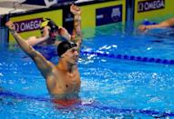 Caeleb Dressel is aiming for seven Olympic golds