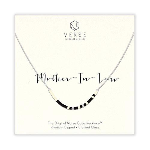 Mother-in-Law Morse Code Necklace (Amazon / Amazon)