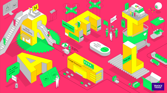 <strong><em>Retail Revolution (Illustration by Thomas Porostocky)</em></strong>
