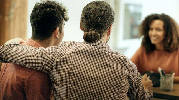 PHOTO: A same sex couple apply for a loan in this stock photo. (STOCK PHOTO/Getty Images)