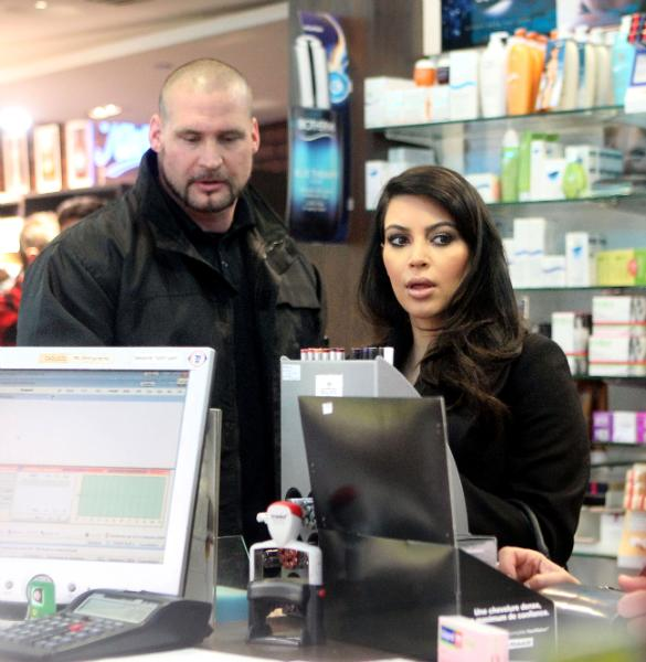 Keeping Kanye Happy? Kim Kardashian Stocks Up On Beauty Items In Paris
