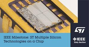 IEEE Milestone for ST's BCD technology
