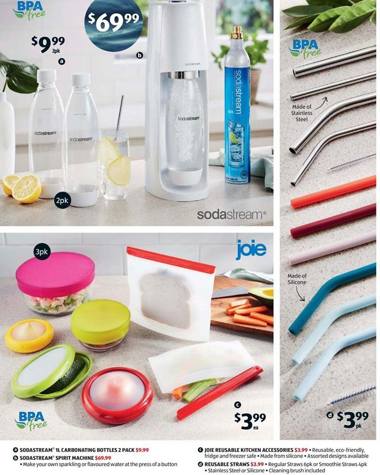 The Aldi catalogue for the Saturday Special Buys. Photo: Facebook/Aldi
