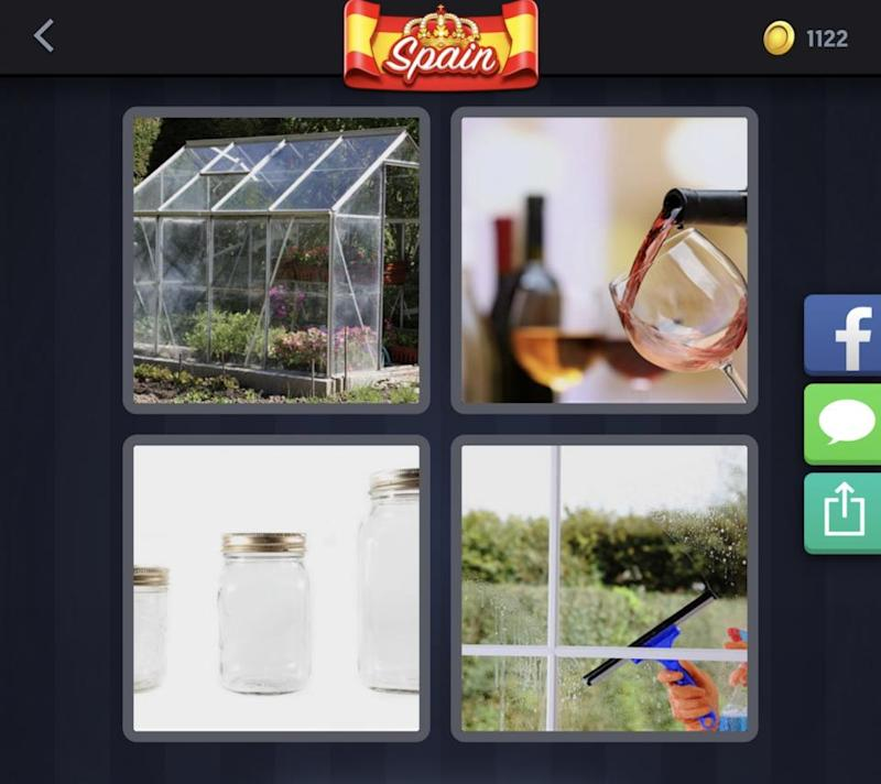 4 Pics 1 Word Daily Challenge May 7 Todays 5 Letter Spain Puzzle