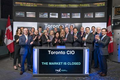 Toronto CIO Closes the Market (CNW Group/TMX Group Limited)