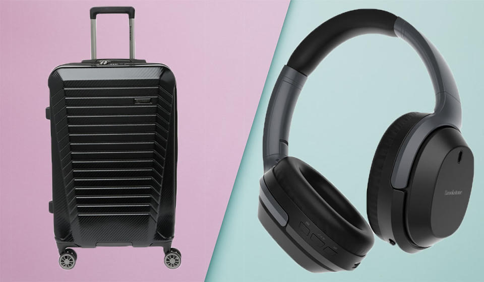 Save big on suitcases, headphones and more. (Photo: Nordstrom Rack)