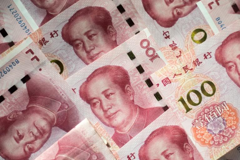 Chinese Yuan Falls After Moody's Downgrade