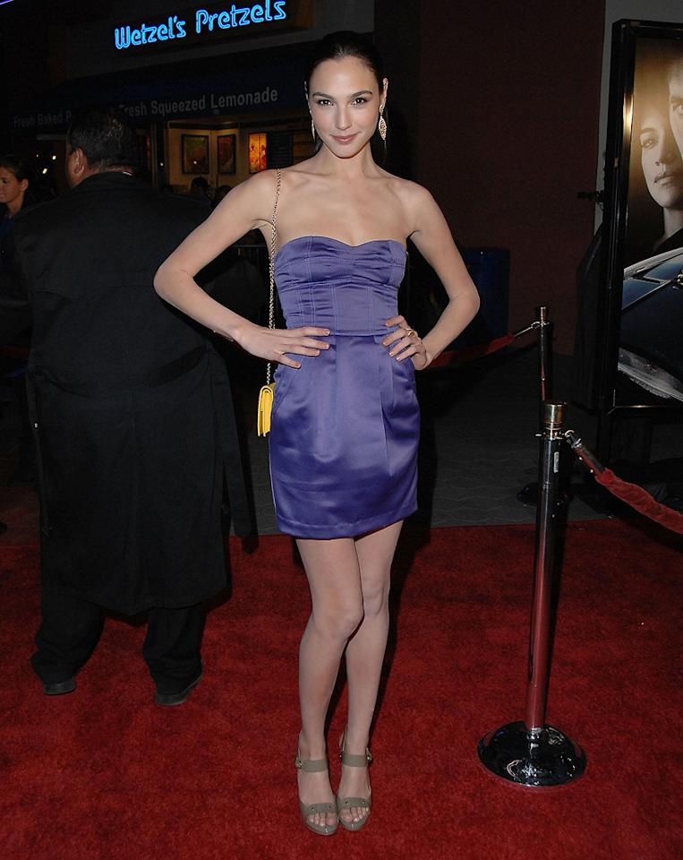 "<a href=""http://movies.yahoo.com/movie/contributor/1810070408"">Gal Gadot</a> at the Los Angeles premiere of <a href=""http://movies.yahoo.com/movie/1809989992/info"">Fast & Furious</a> - 03/12/2009"