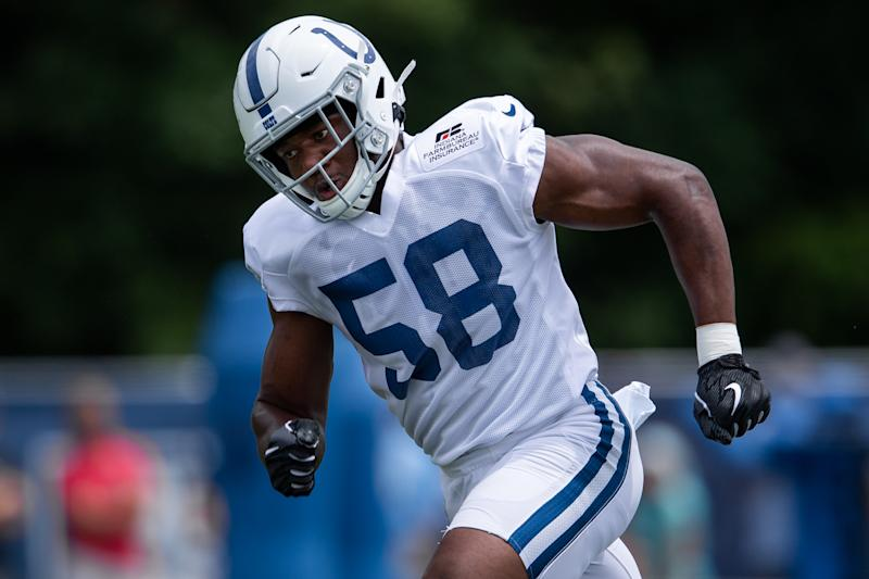 "Colts linebacker Bobby Okereke called sexual assault allegations against him ""untrue"" on Saturday, speaking out about the 2015 incident for the first time."