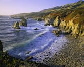 """<p>Get the R&R you need surrounded by endless natural beauty in Big Sur this year. One of the best ways to do that is with a stay at <a href=""""https://www.postranchinn.com/"""" rel=""""nofollow noopener"""" target=""""_blank"""" data-ylk=""""slk:Post Ranch Inn"""" class=""""link rapid-noclick-resp"""">Post Ranch Inn</a>, which offers rooms with a view of whatever you're looking for, be it California Redwoods or dramatic coastal cliffs. Art exhibits, heated pools, renowned spa facilities, and an acclaimed wine cellar are just what you need to start the new year on the right foot. </p>"""